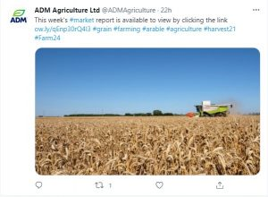 Follow ADM Agriculture on Twitter
